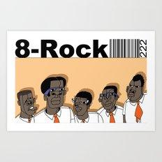 1001 Black Men--#222 Art Print