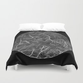 Inverted Viscosity Duvet Cover