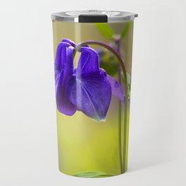 Purple Columbine In Spring Mood Travel Mug