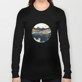 Blue Mountain Reflection Long Sleeve T-shirt