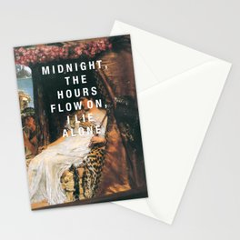 midnight the hours Stationery Cards