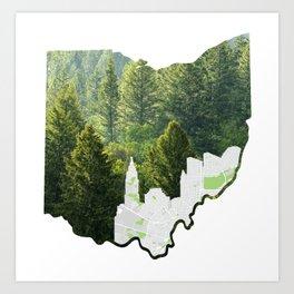 Natural Ohio Art Print