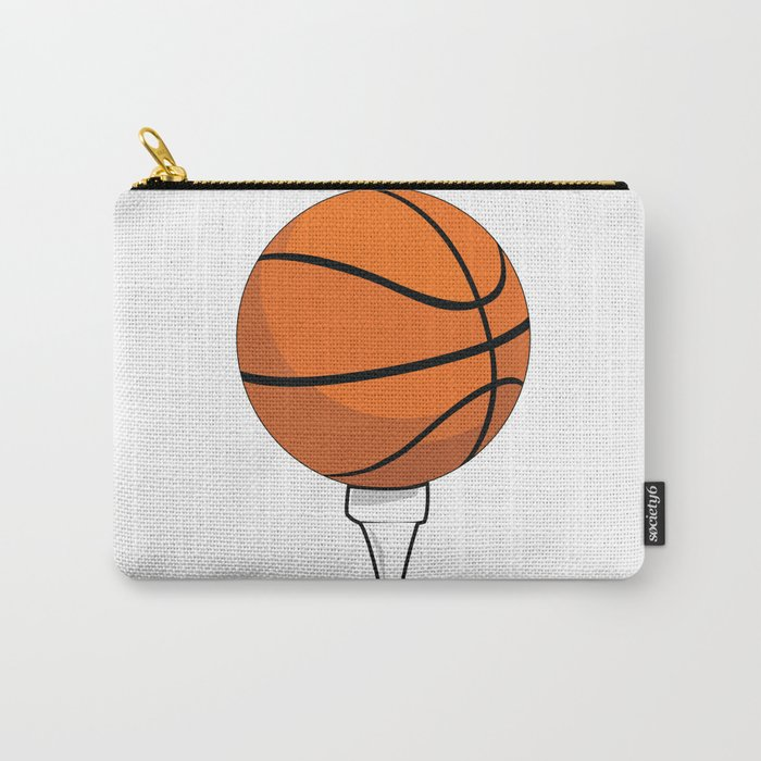 Basketball Tee Carry-All Pouch