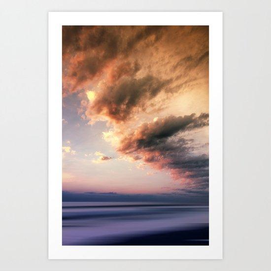 Pastel Waters #ocean Art Print