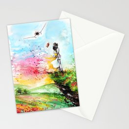 """""""By the cliff"""" Stationery Cards"""