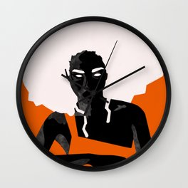 Colorful Women Series Wall Clock