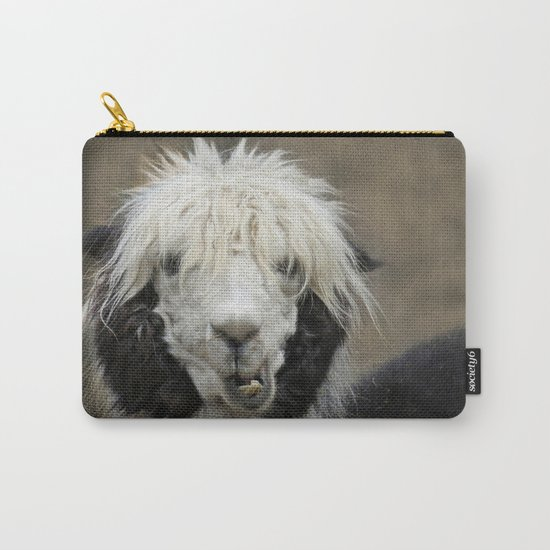 Funny alpaca Carry-All Pouch
