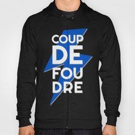 Coup de Foudre / Blue Lightning Hoody