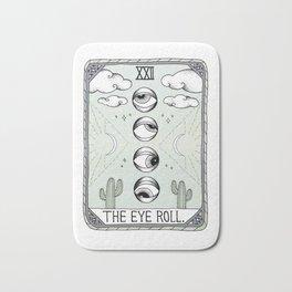 The Eye Roll Bath Mat