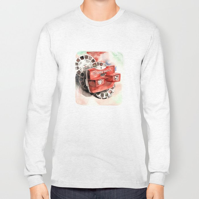 Vintage gadget series: View-Master Model G Long Sleeve T-shirt
