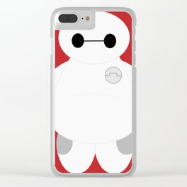 Baymax Clear iPhone Case