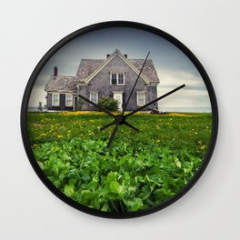High Bank House Wall Clock