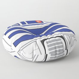 R2D2 R2-D2 series astromech droid Floor Pillow