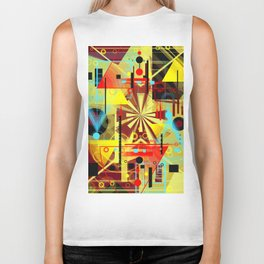 The sun chariot for a day Biker Tank