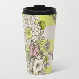 Beauty (eye of the beholder) - striped version Travel Mug
