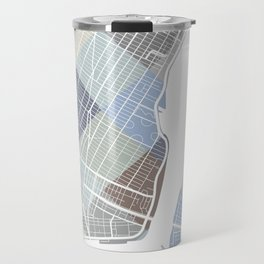 New York Blocks. Travel Mug