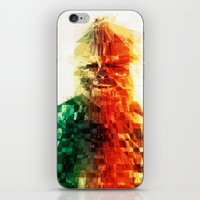 chewbacca iPhone & iPod Skins featuring Chewbacca by Tom Johnson