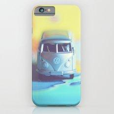 Silver Vintage Bus Slim Case iPhone 6s