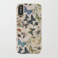 insect iPhone & iPod Cases featuring Insect Jungle by Galvanise The Dog