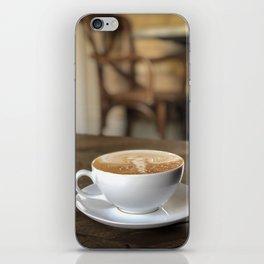 cafe latte iPhone Skin