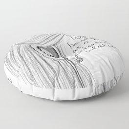 Intentional isolation Floor Pillow