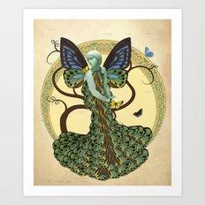 Lepidoptera Somniare Art Print