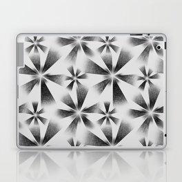Fragmented White Burst Laptop & iPad Skin