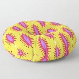 Cosmic Roar Pattern Floor Pillow