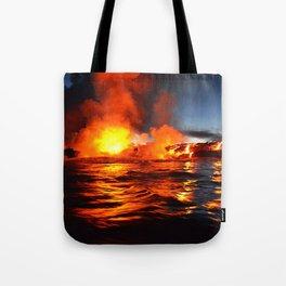 Kilauea - Hawaii Tote Bag