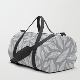 Float Like A Feather - Grey Duffle Bag