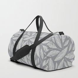 Float Like A Feather - Grey Duffle Bag