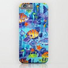 Underwater cartoon cute pattern iPhone 6s Slim Case