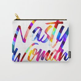 Nasty Woman Rainbow Carry-All Pouch