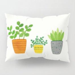 House Plants Pillow Sham