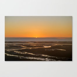 Sunrise over Golden Bay Canvas Print