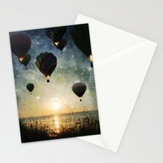 Lighting the night Stationery Cards