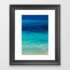 SEA BEAUTY Framed Art Print
