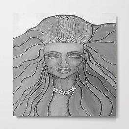 Feel The Wind Metal Print