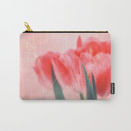spring greetings abstract tulips bouquet Carry-All Pouch