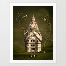 Kingdom of her own Art Print