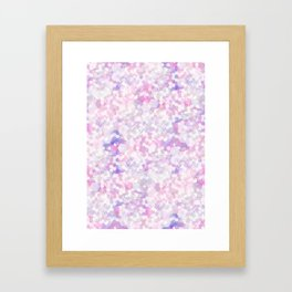 Hexadots Framed Art Print