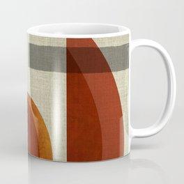 """""""Abstract Ships at Sunset"""" Coffee Mug"""