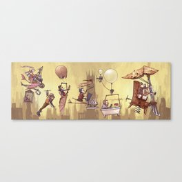 Flying Machines Canvas Print
