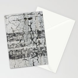 Urban Texture Photography - Road Markings Tire Tracks Stationery Cards