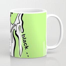 Paint Over The Demons Coffee Mug