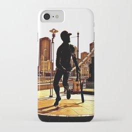 Roberto's Shadow Lives In Roberto's City iPhone Case
