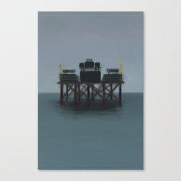 Ballpark on stilts Canvas Print