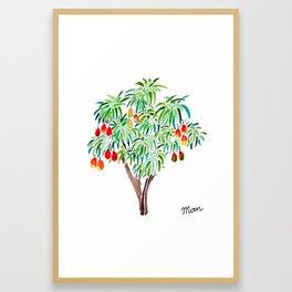 Mango Tree Framed Art Print