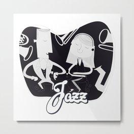 Classic Jazz Metal Print