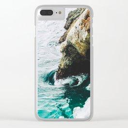 Bir Sur Swirl Clear iPhone Case